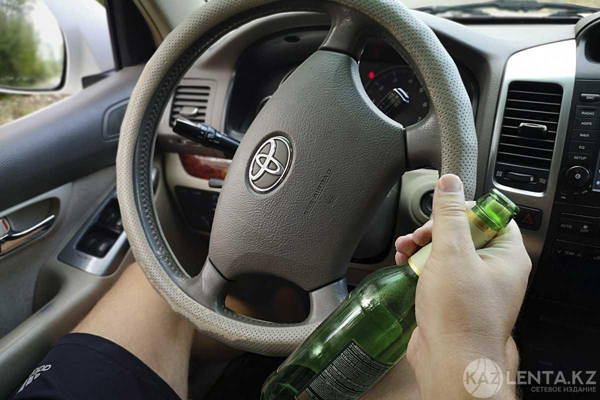 В ВКО задержан пьяный водитель без прав
