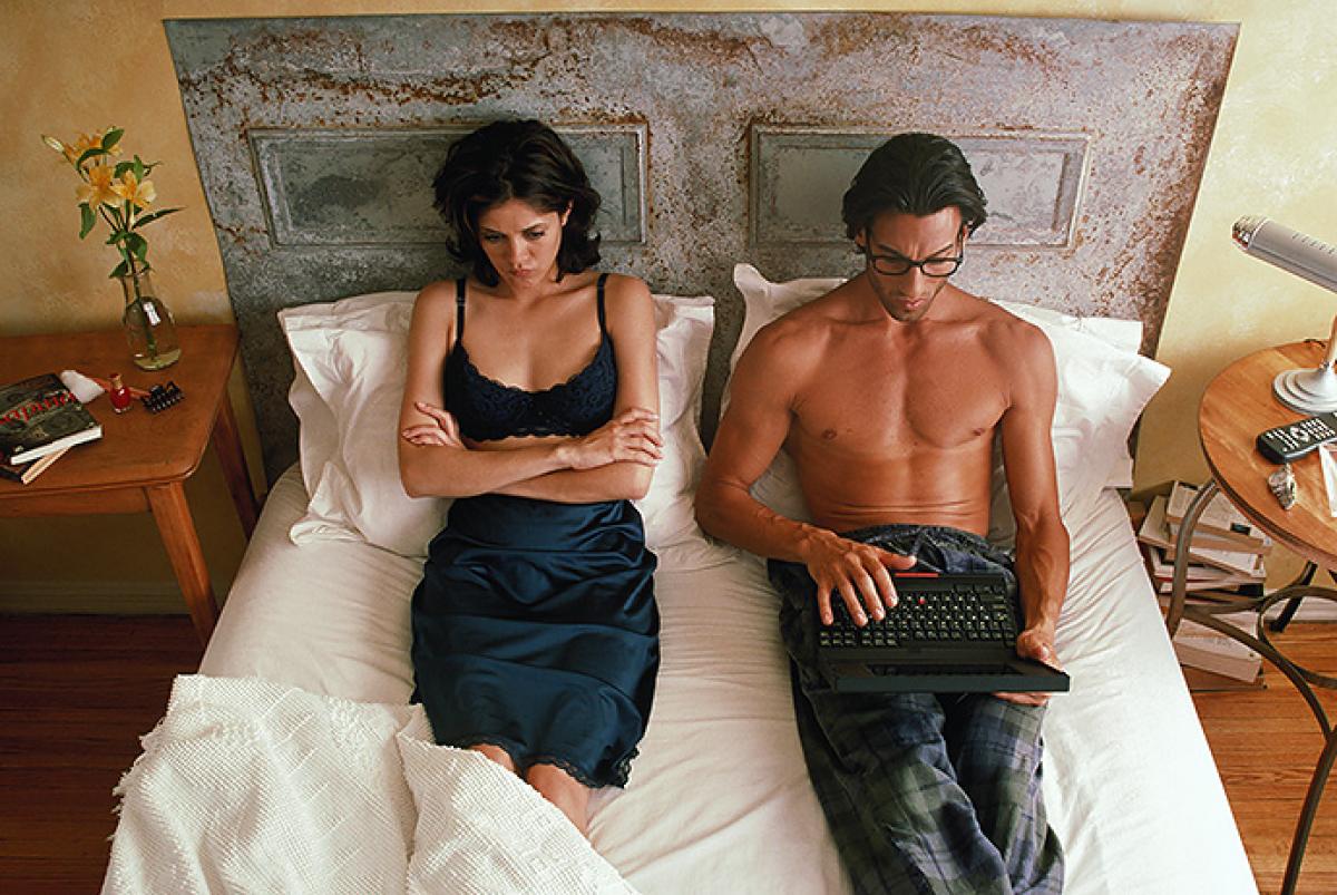 Мужчины признались, почему избегают близости сженами