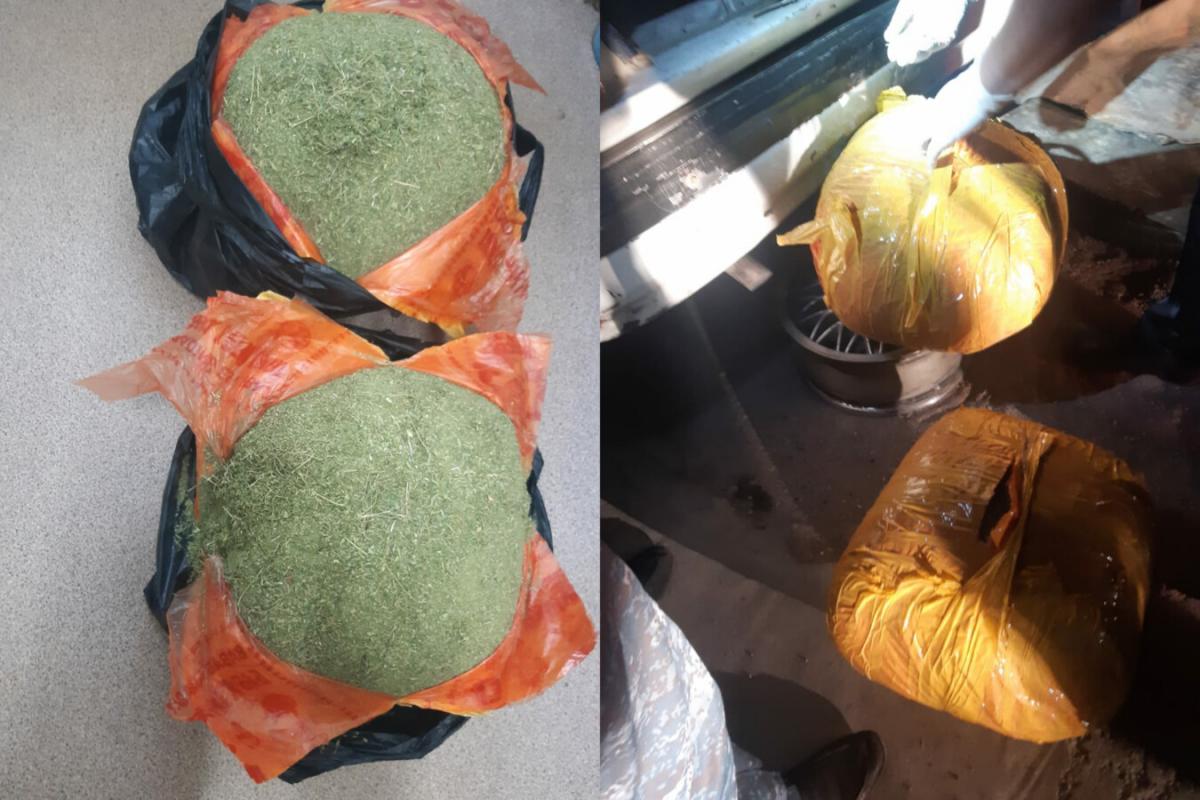 Жамбылские полицейские изъяли 20,5 кг марихуаны