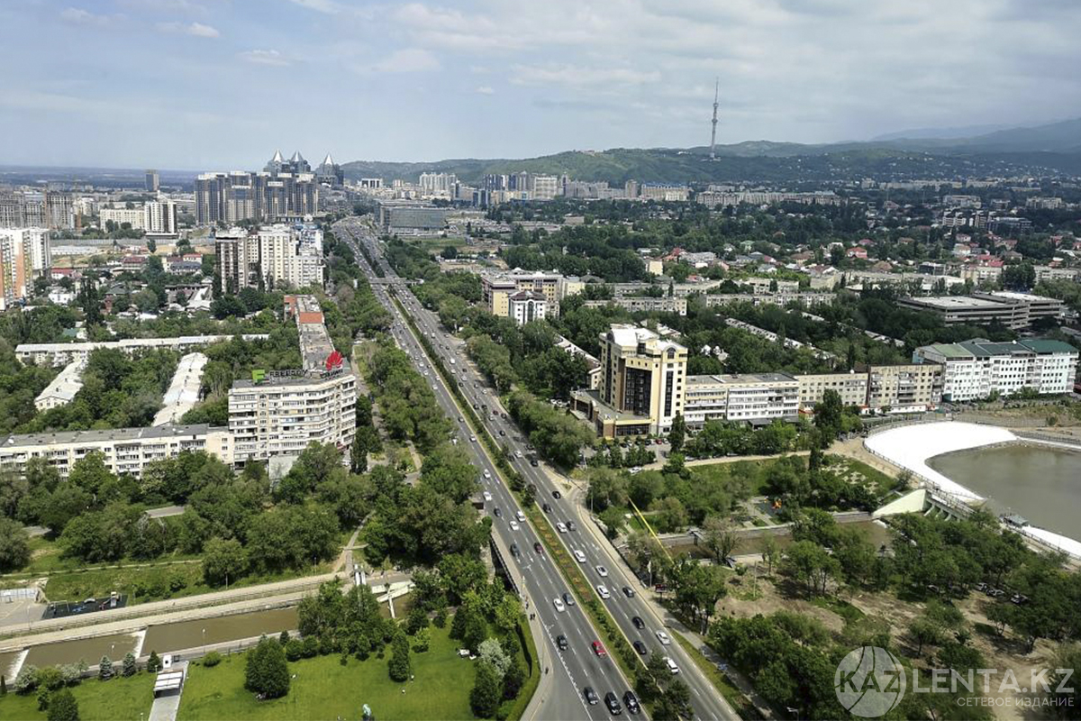 Какие новые развязки и улицы появятся в Алматы, рассказали в полиции
