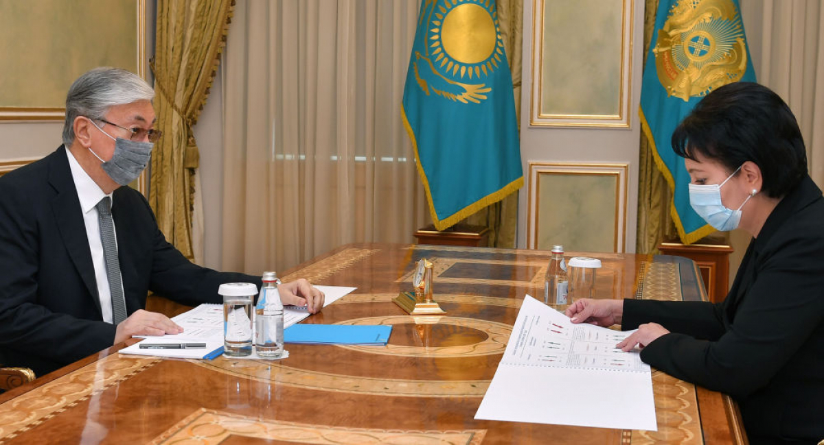 Токаев принял единственную женщину - акима области: какие поручения даны Абдыкаликовой