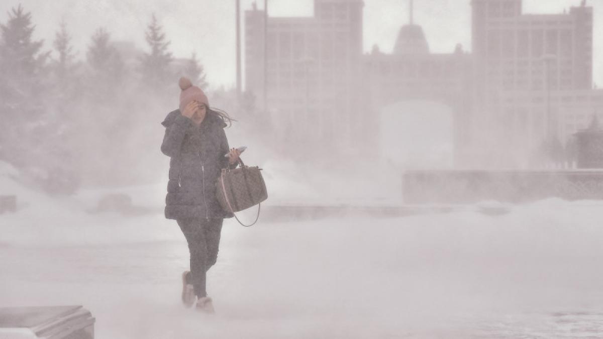 Штормовое предупреждение объявлено в 6 областях Казахстана на 21 ноября