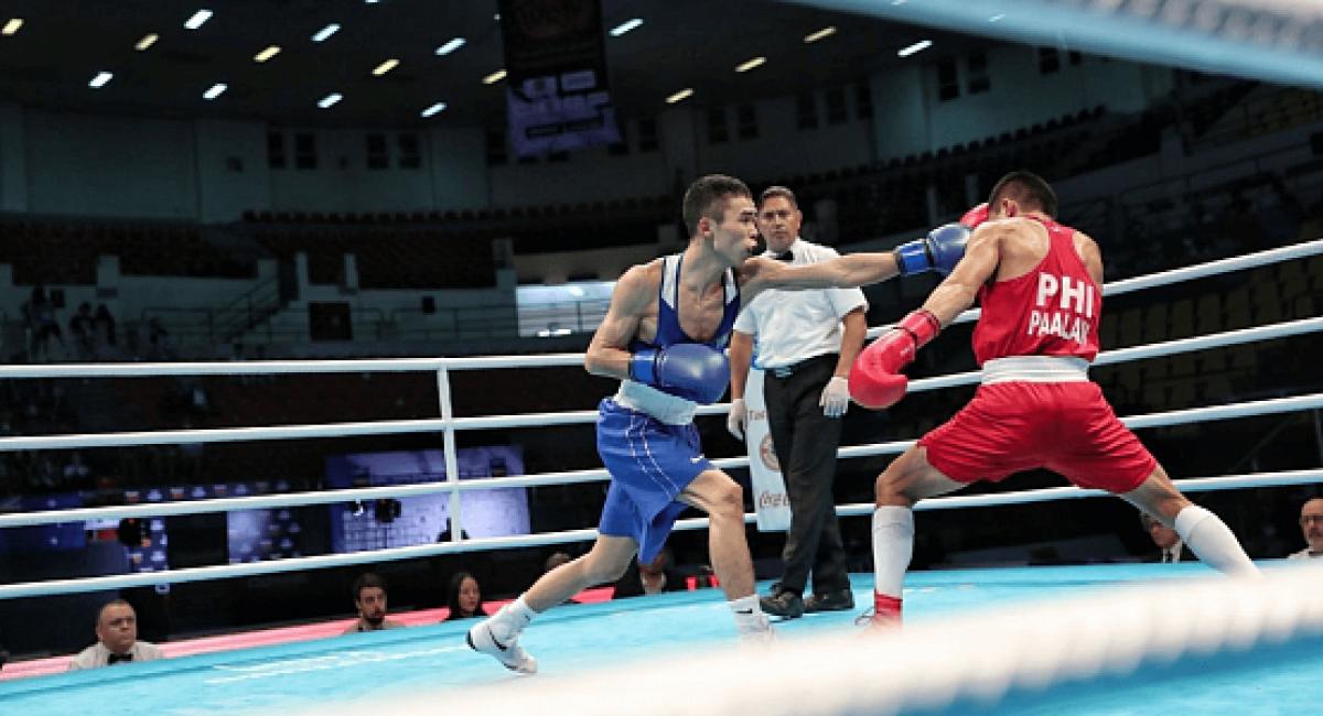 Шестеро казахстанцев вышли в финал международного турнира по боксу в Германии