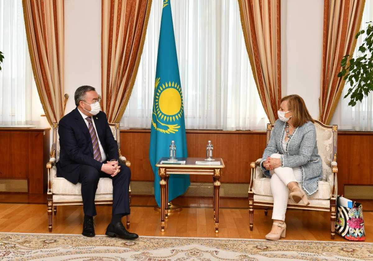 Испания заинтересована в расширении стратегического партнерства с Казахстаном