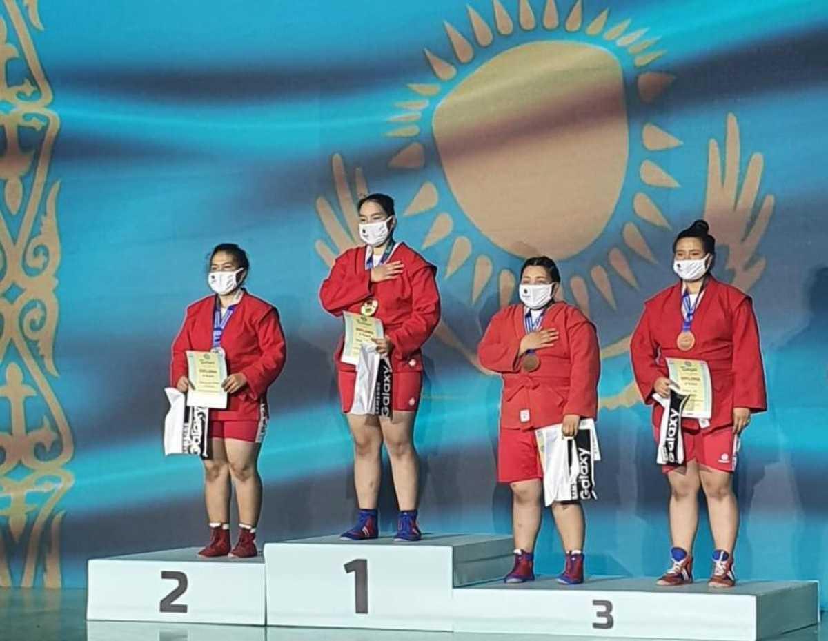 Спортсменка из Карагандинской области стала чемпионкой Азии по самбо