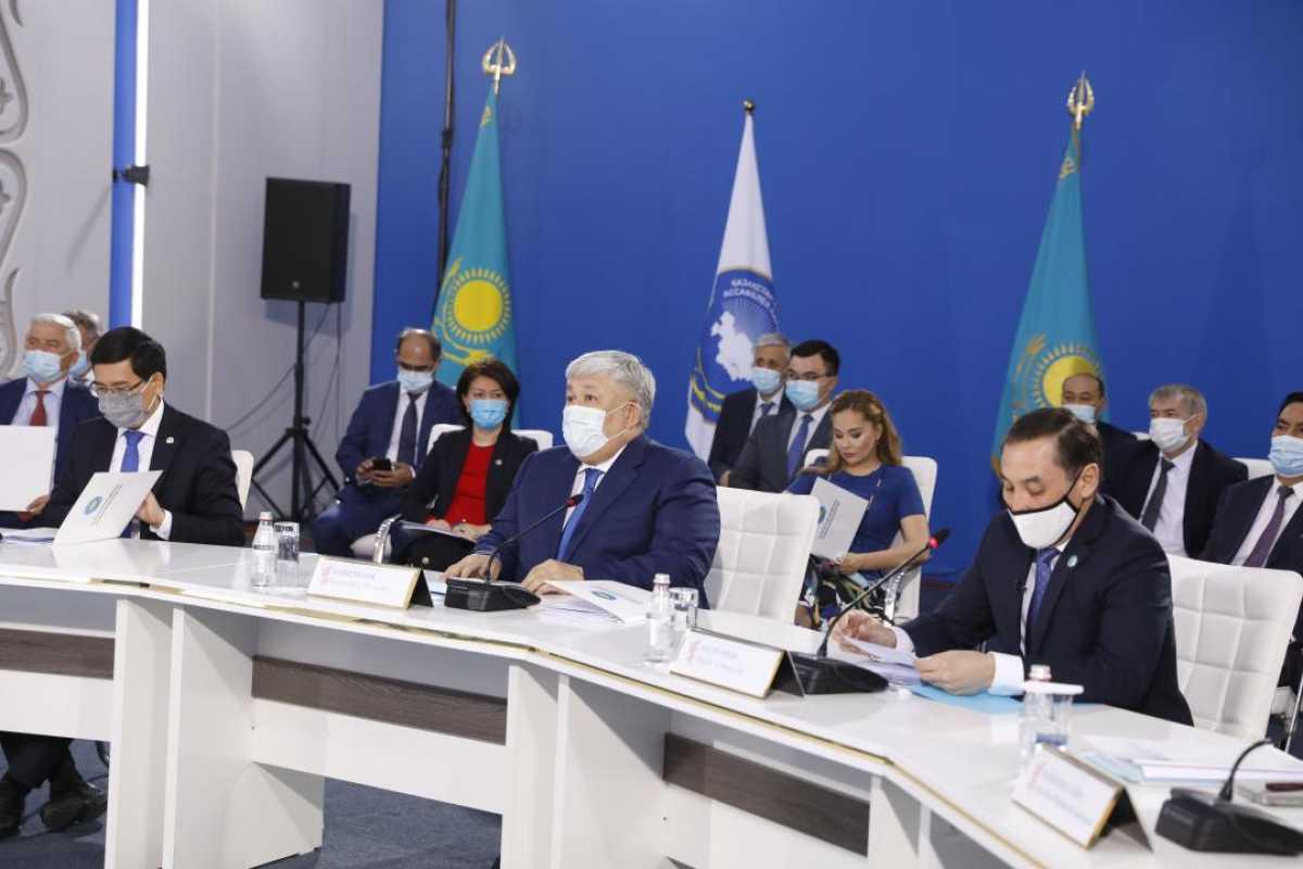 Состоялось расширенное заседание Совета Ассамблеи народа Казахстана