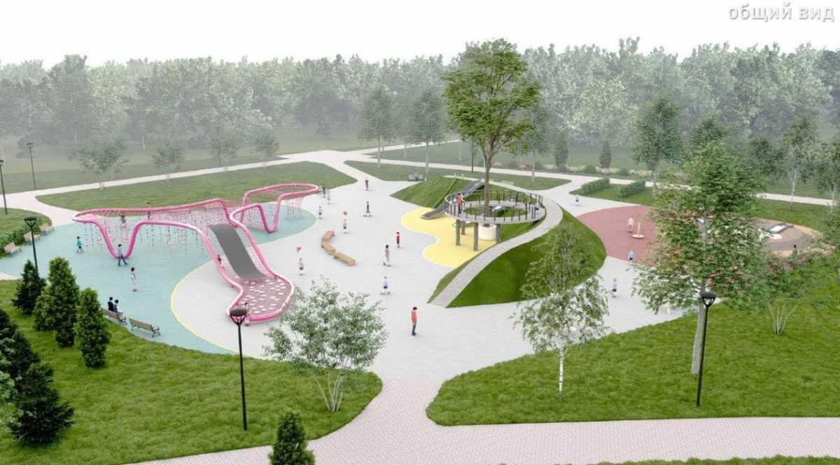 Уникальная детская площадка появится в Нур-Султане