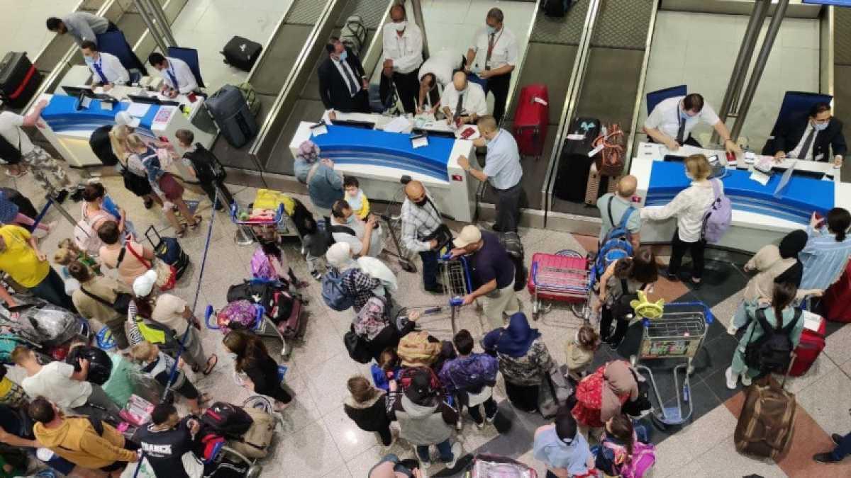Самолеты с эвакуированными из сектора Газа казахстанцами вылетели из Каира
