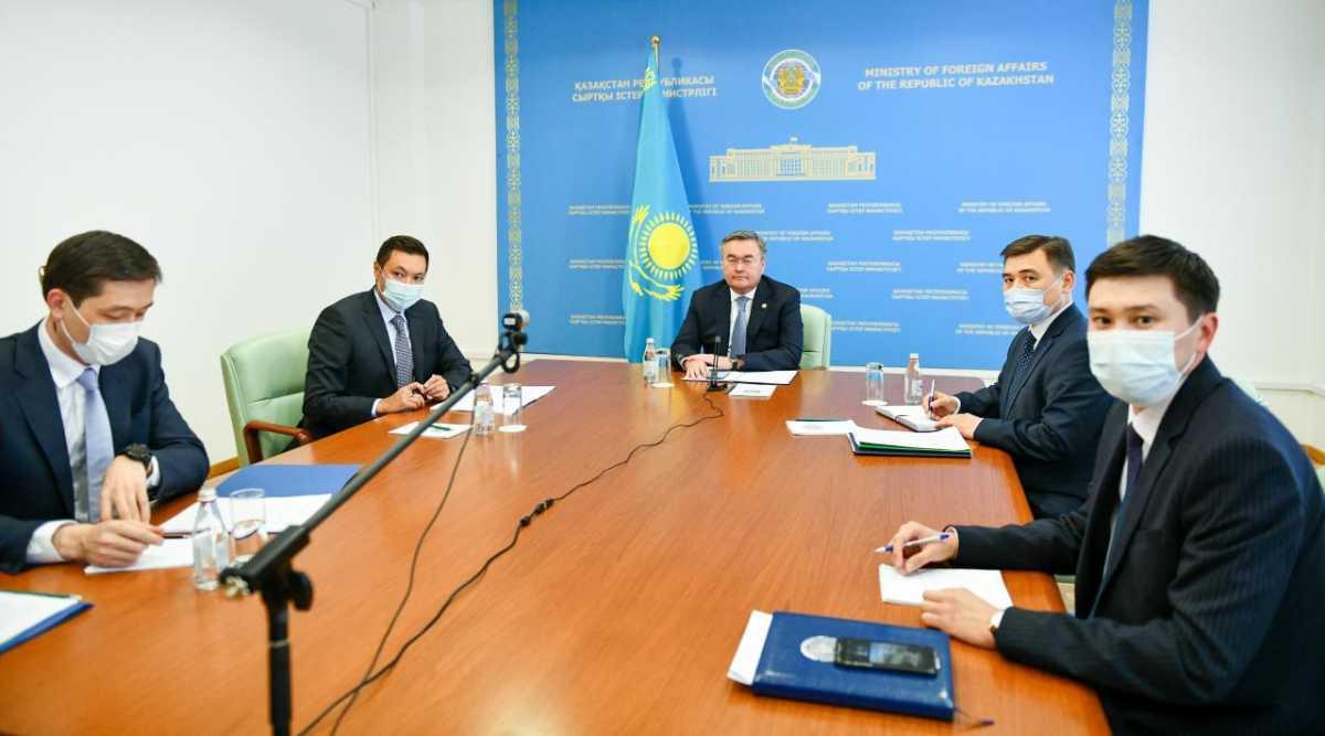 В Вашингтоне прошёл виртуальный казахстанско-американский бизнес-форум