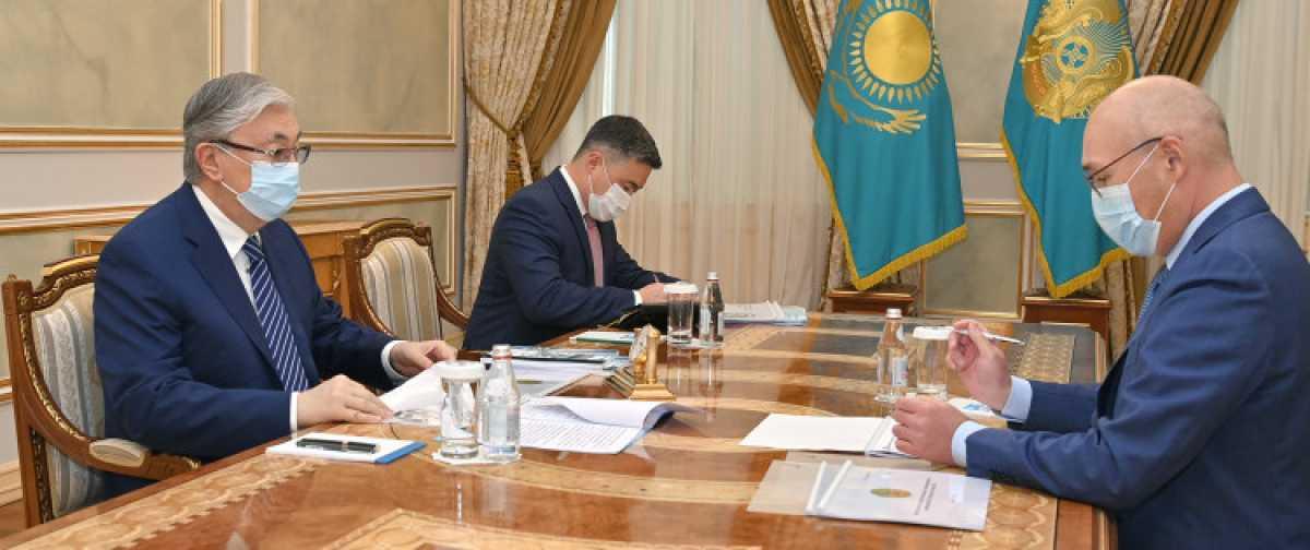 Токаев принял главу Агентства по стратегическому планированию и реформам