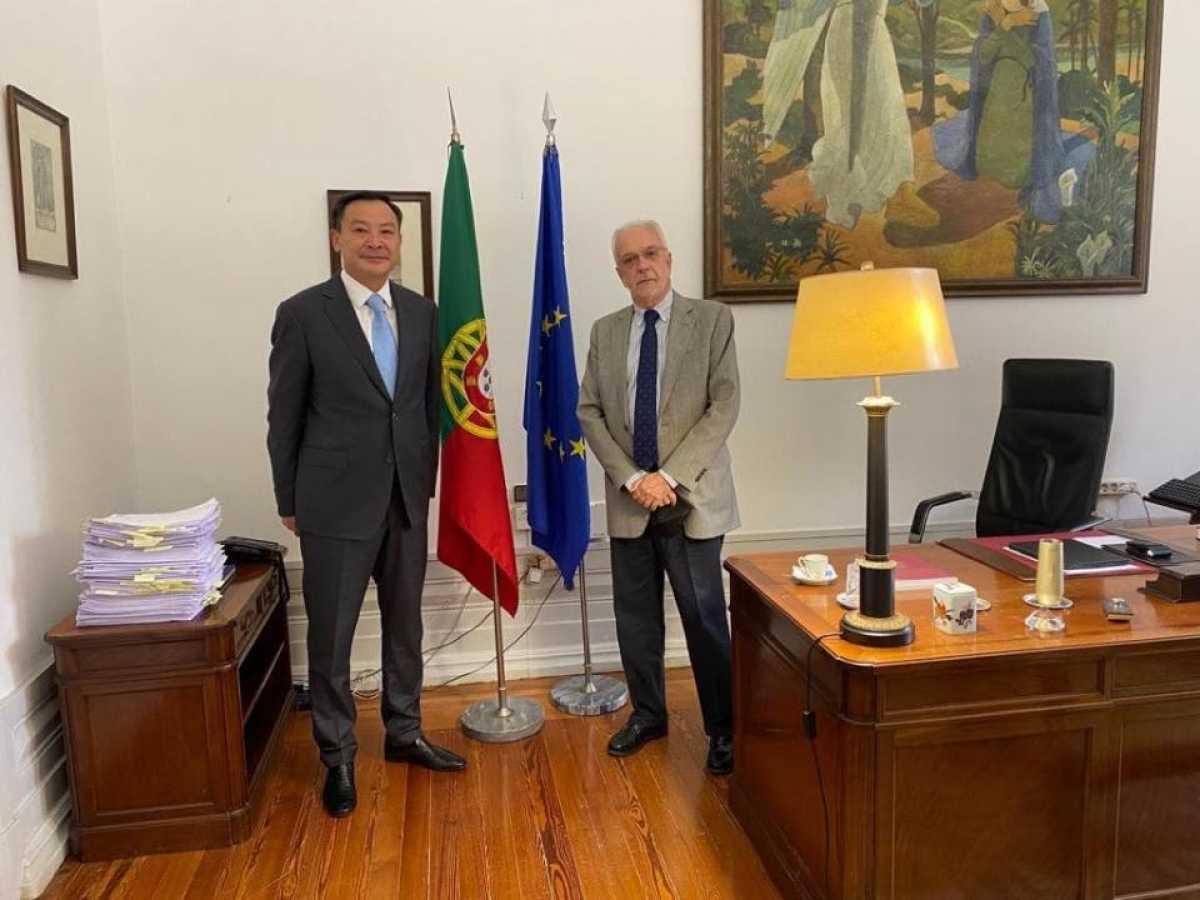 Посол Казахстана встретился с Председателем Конституционного суда Португалии