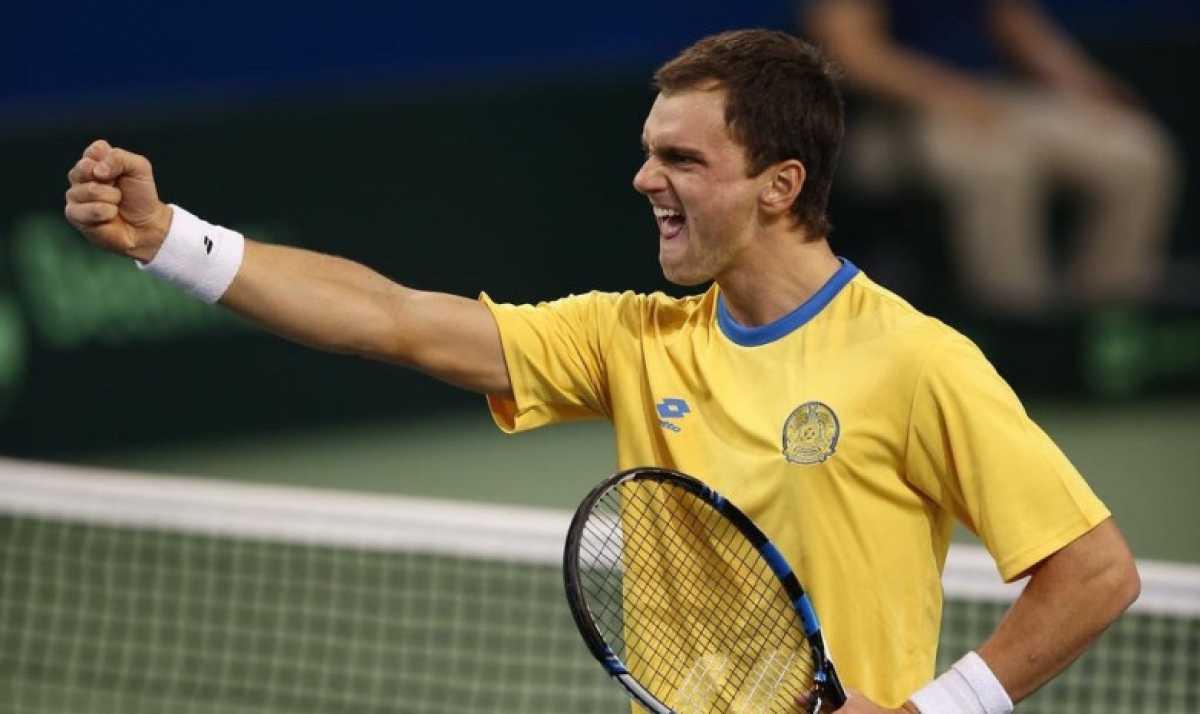 Казахстанский теннисист Александр Недовесов завоевал шестой титул в сезоне