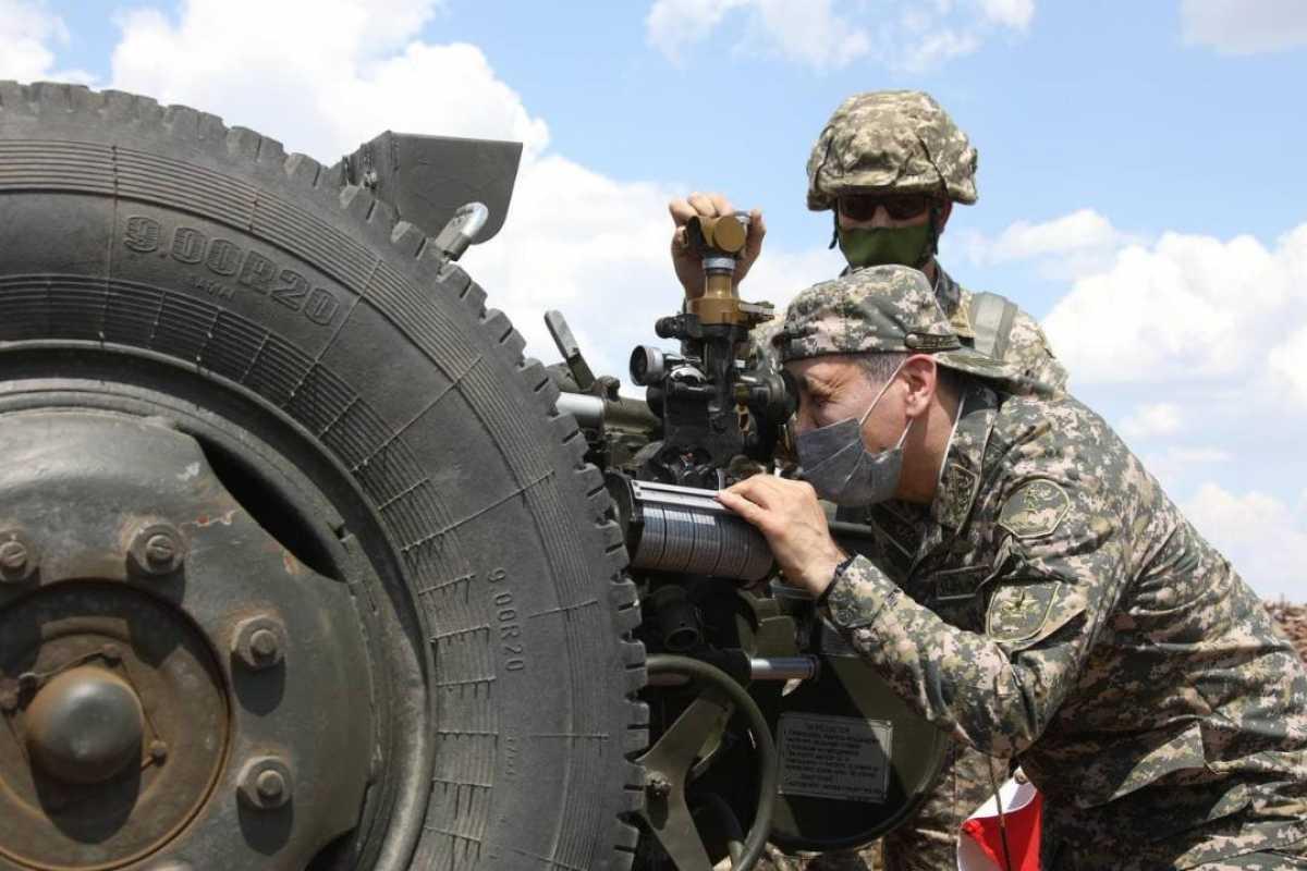 Министр обороны проверил ход подготовки воинов к Армейским международным играм