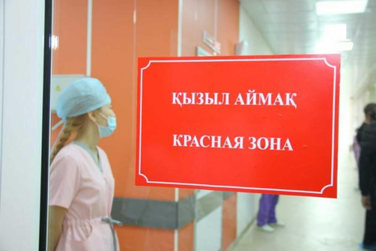 Двенадцать регионов Казахстана находятся в «красной» зоне по коронавирусу