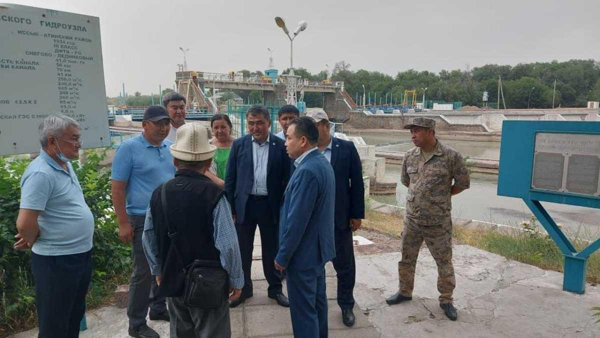 Вице-министр экологии посетил с рабочим визитом Жамбылскую область