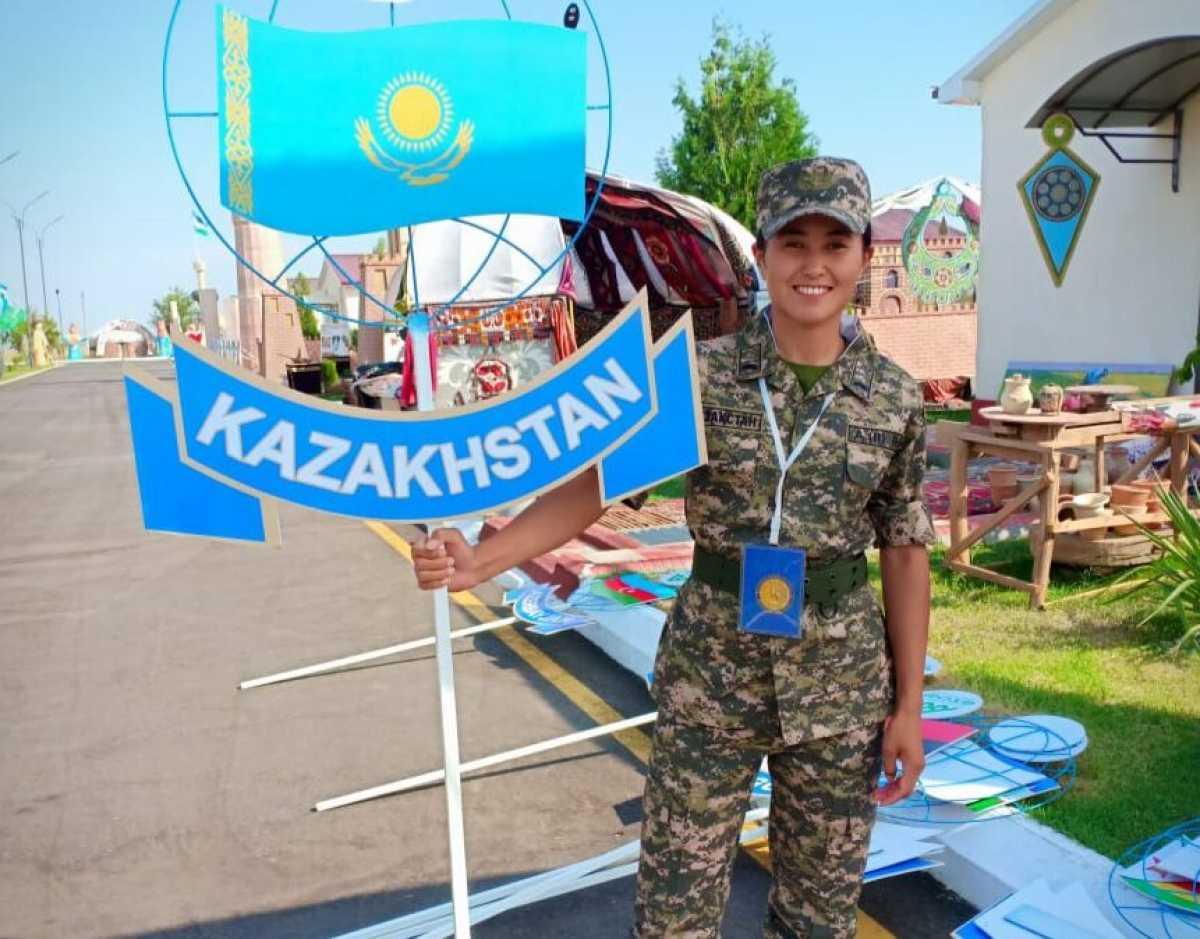 Победить любой ценой — казахстанская военнослужащая о конкурсе «Воин мира»