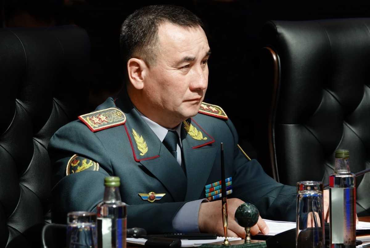 Начальник Генерального штаба ВС РК прибыл с официальным визитом в Беларусь