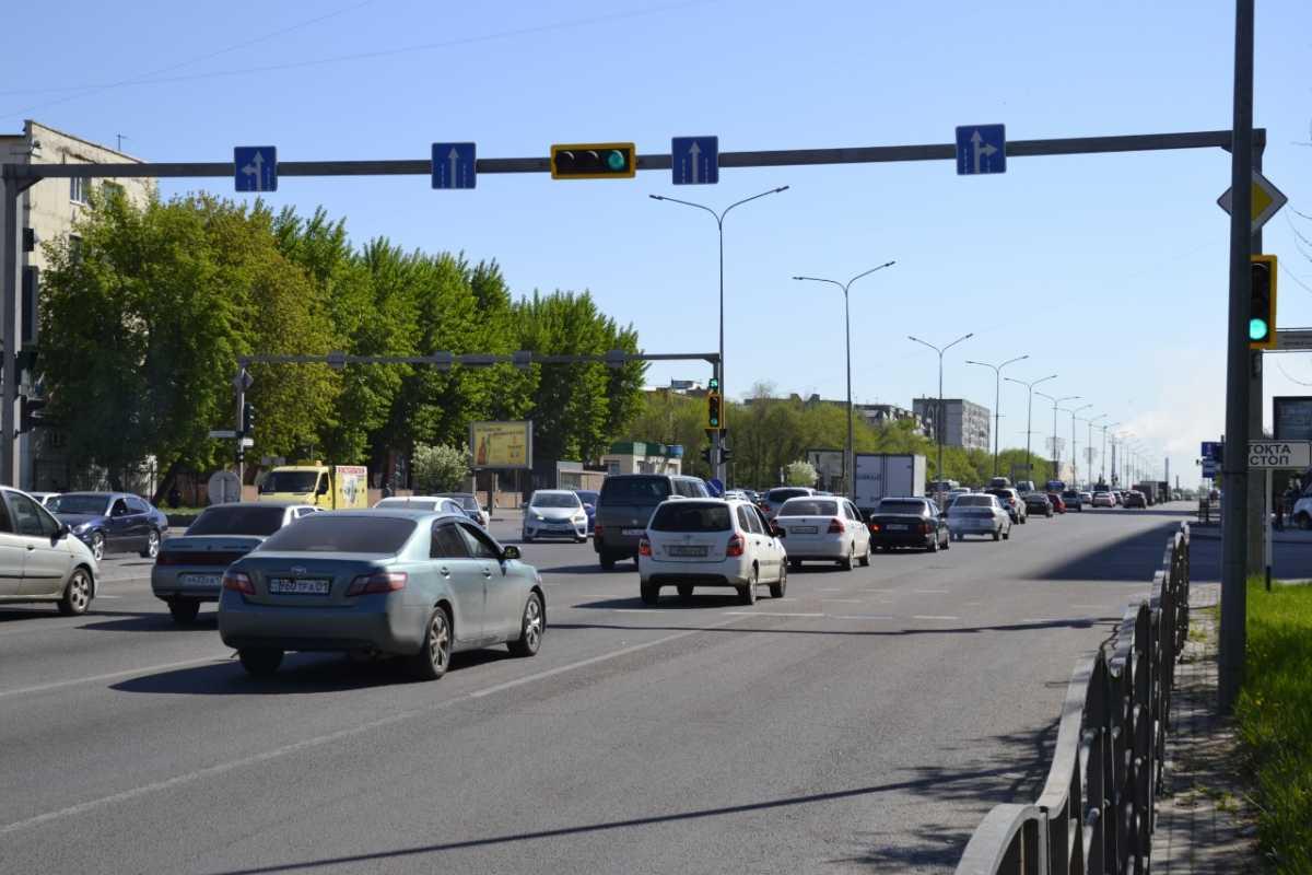 В столице на перекрестке Богенбай батыра – Республики изменили режим работы светофора.
