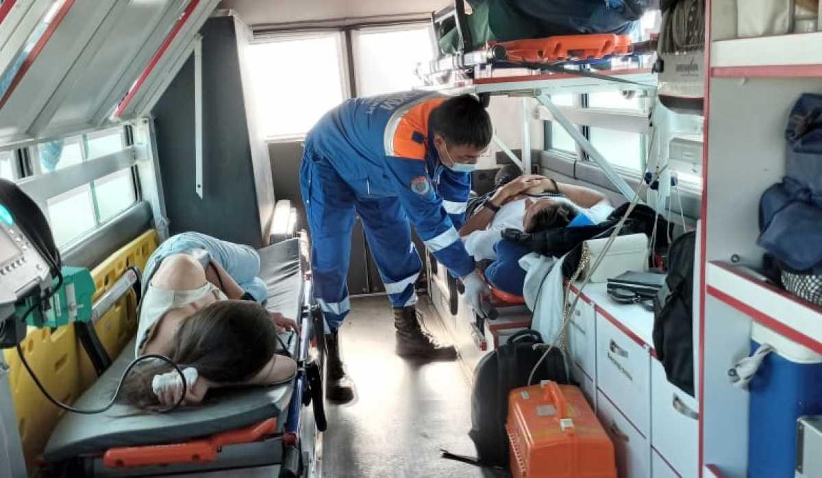 За сутки на трассах РК спасено 32 человека