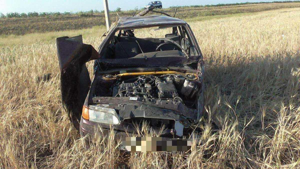 Два смертельных ДТП произошли в Актюбинской области