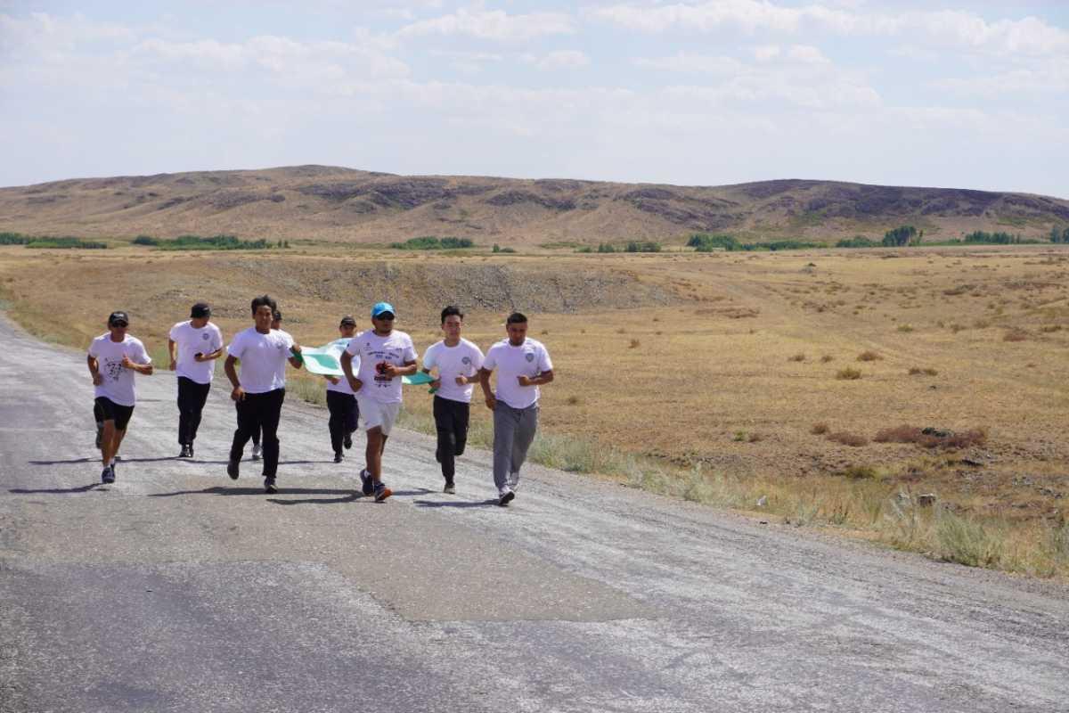 Карагандинец пешком преодолел 777 километров