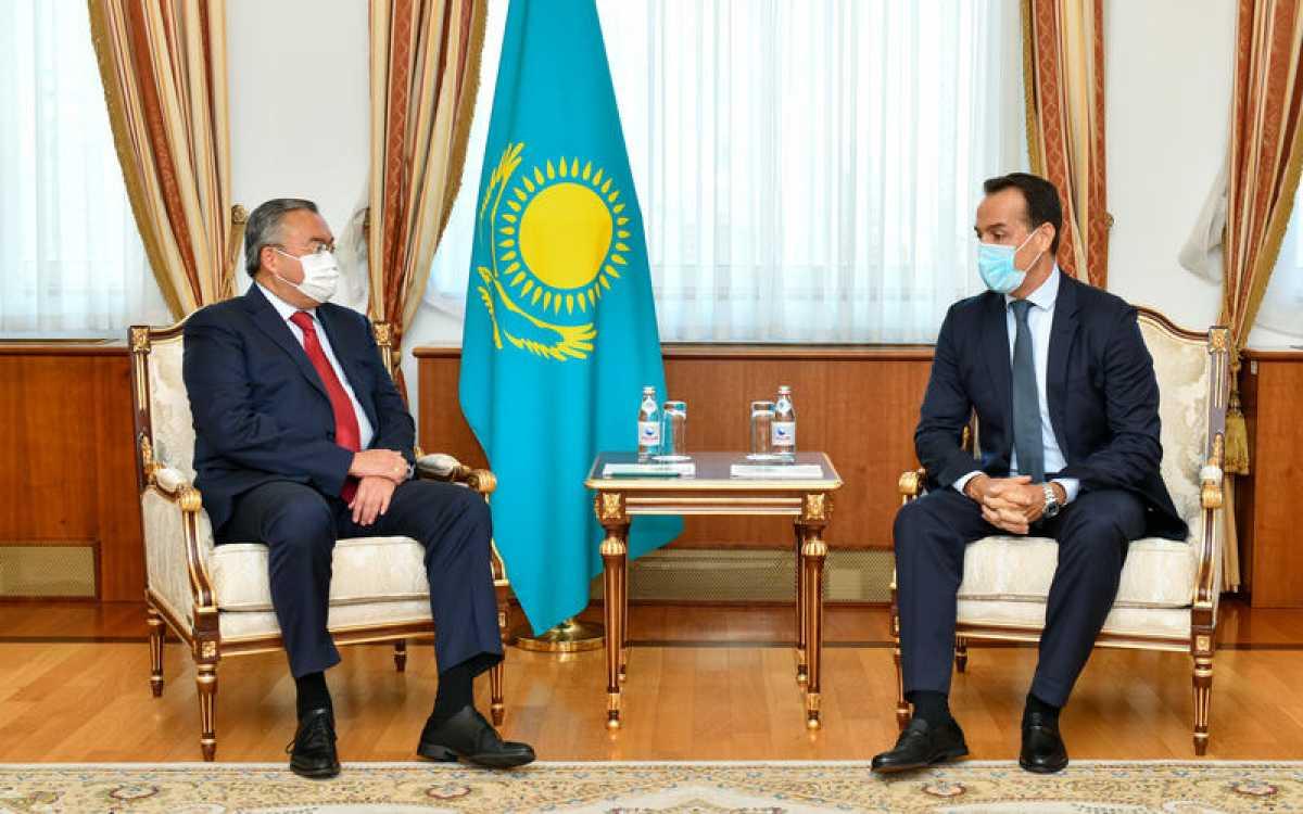 Глава МИД принял иностранных послов, завершивших свою дипмиссию в Казахстане