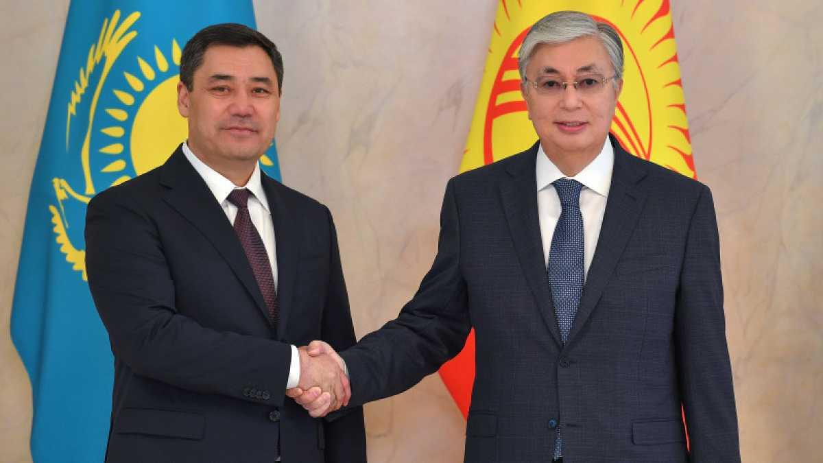 Токаев поздравил Президента Киргизии Жапарова
