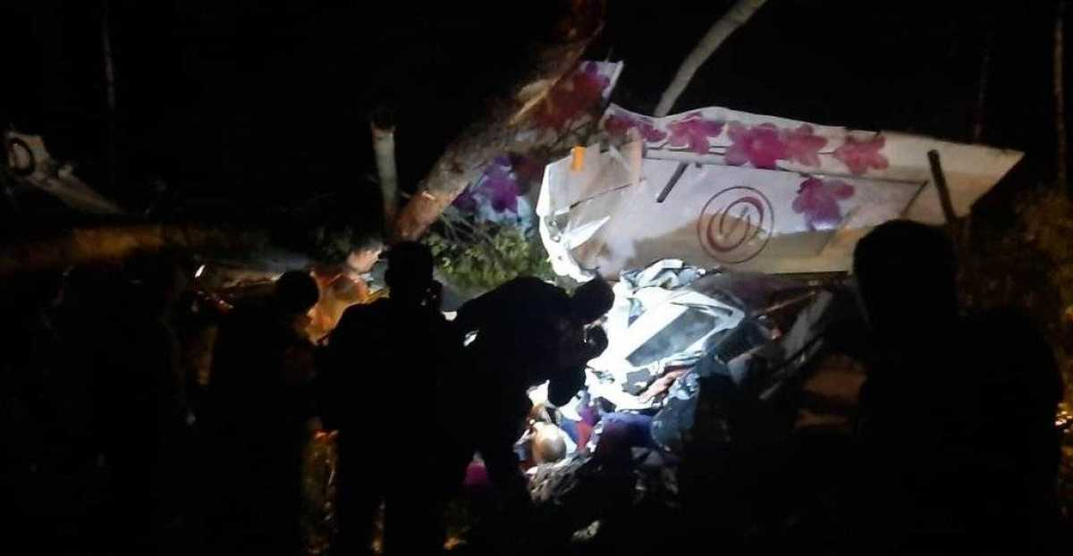 В России потерпел крушение пассажирский самолет: есть погибшие