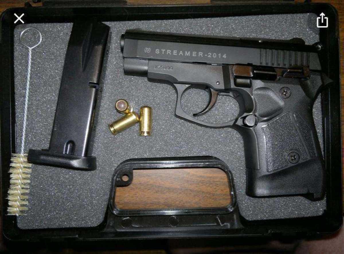 Пистолет с патронами нашли у водителя в Туркестанской области
