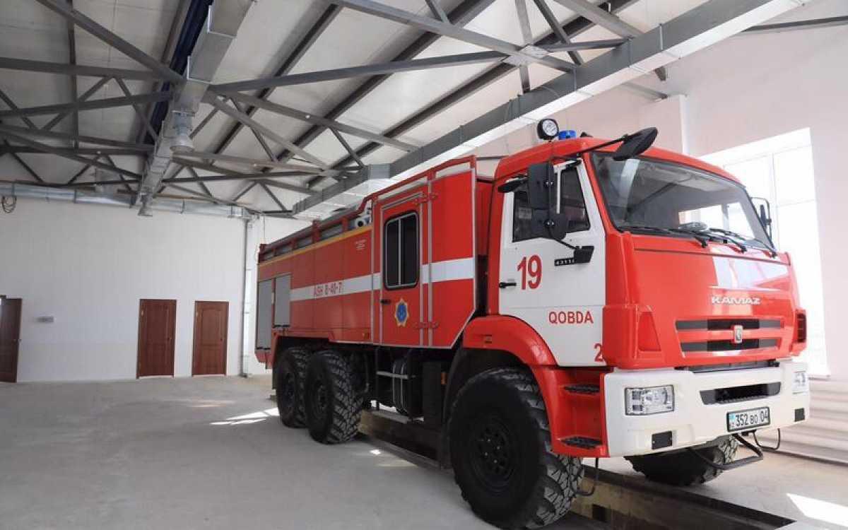 В Актюбинской области открылась новая пожарная часть