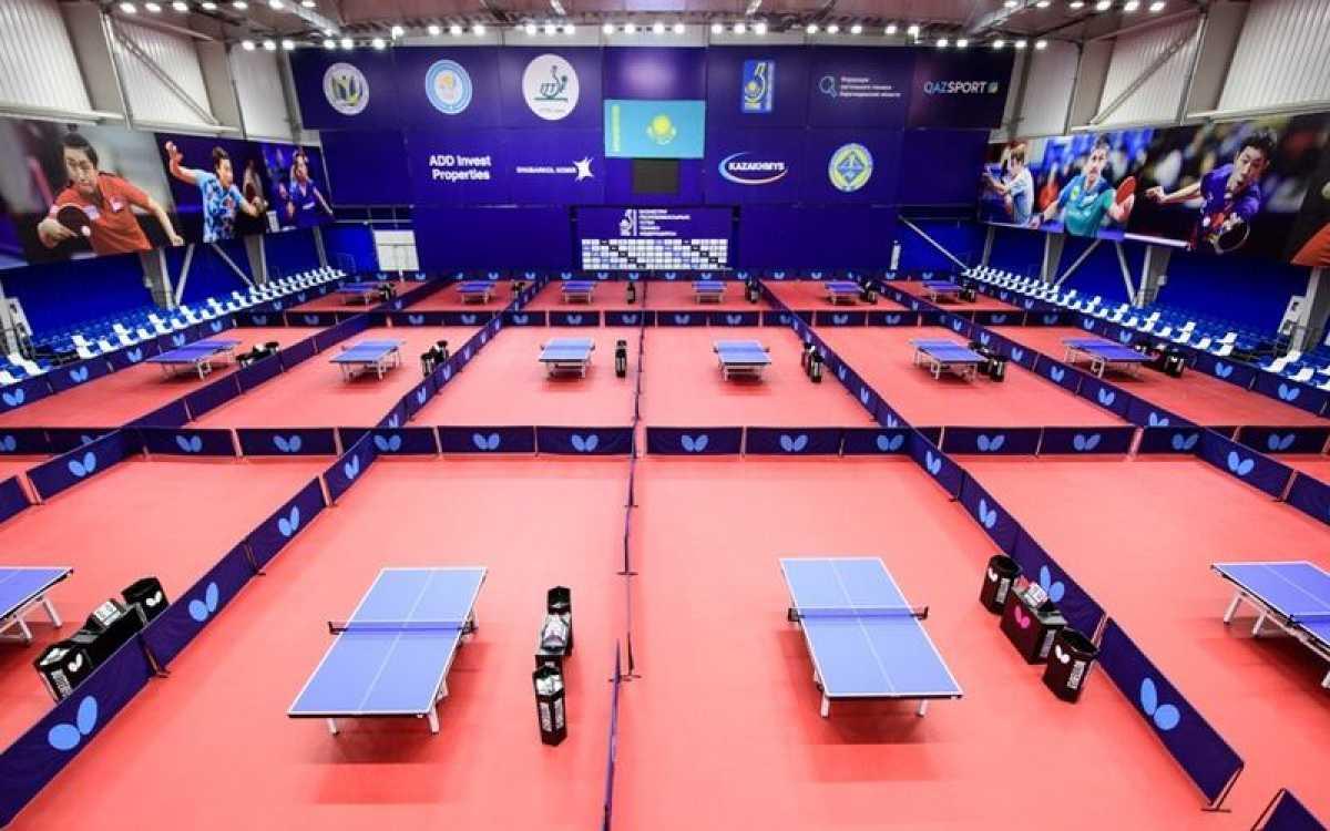 В Караганде впервые пройдёт рейтинговый Международный турнир по настольному теннису