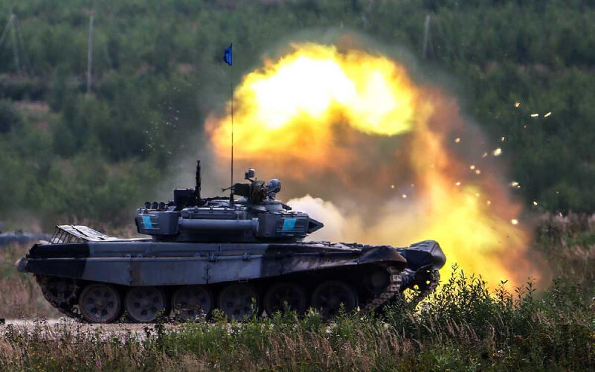 15 сентября профессиональный праздник отмечают казахстанские танкисты