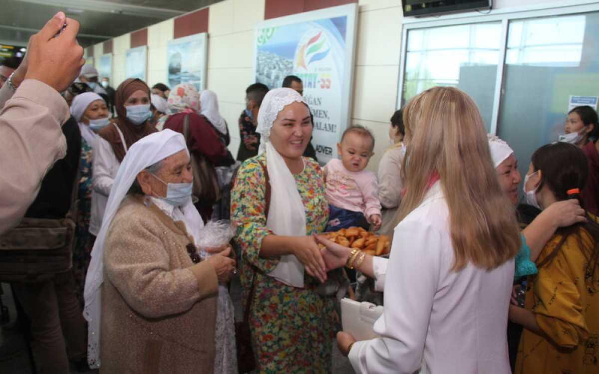 Кандасы из Ирана прибыли в Мангистаускую область