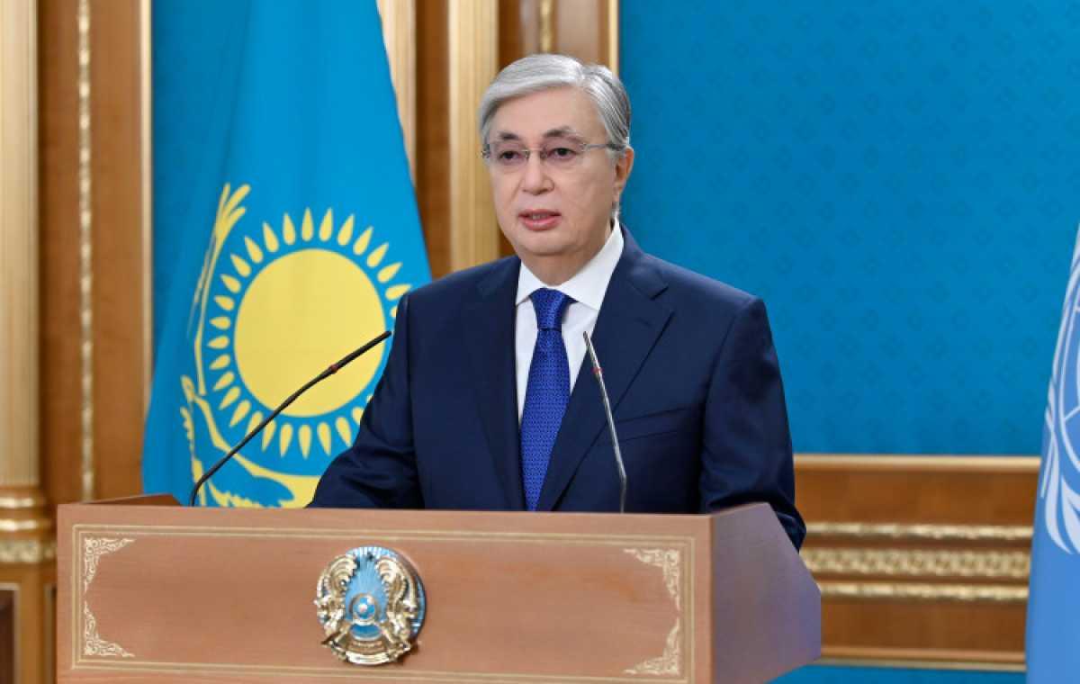 Токаев выступил на Общих дебатах 76-й сессии Генеральной Ассамблеи ООН
