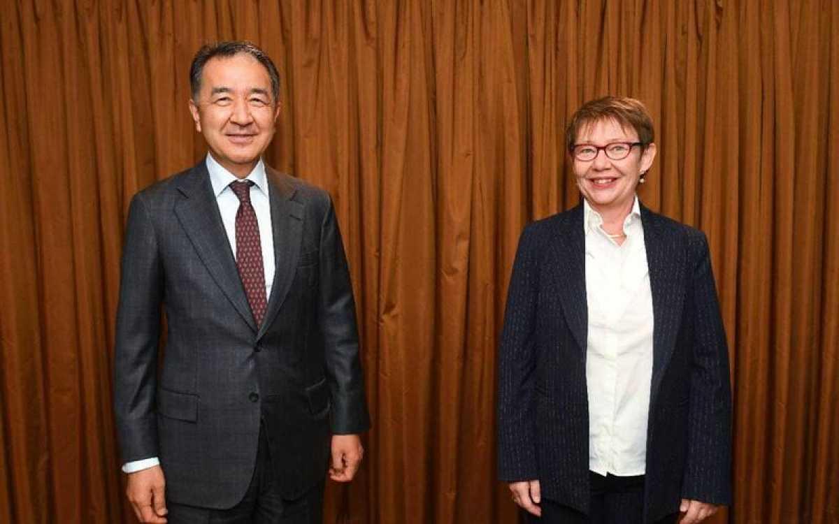 Сагинтаев встретился с представителями ЕБРР по вопросам расширения сотрудничества