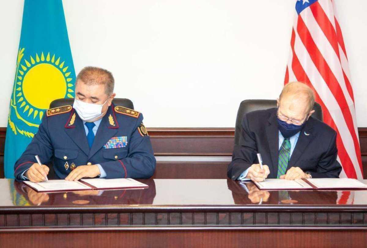 Ерлан Тургумбаев встретился с Полномочным послом США в Республике Казахстан