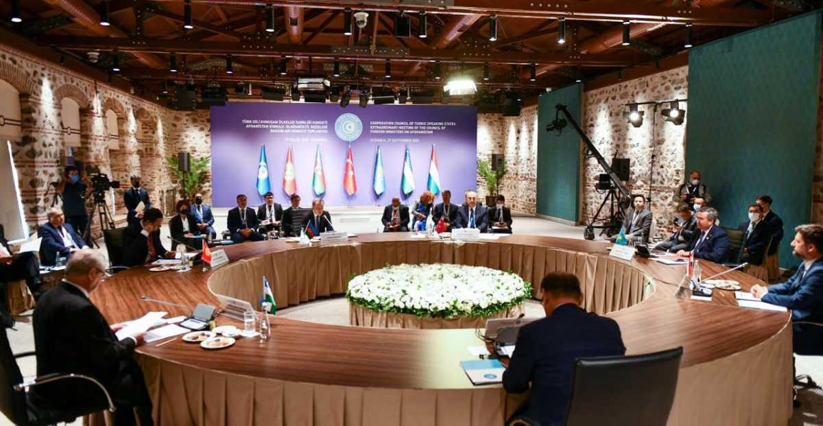 Главы МИД стран Тюркского совета обсудили ситуацию в Афганистане