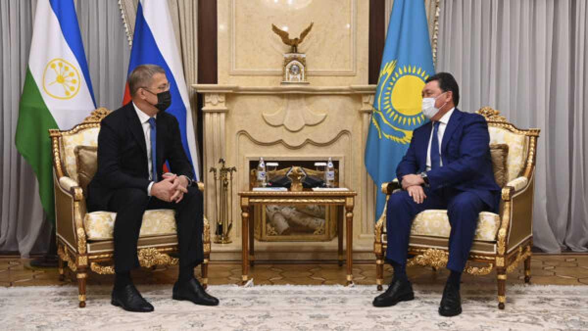 Состоялась встреча Мамина с Главой Башкортостана