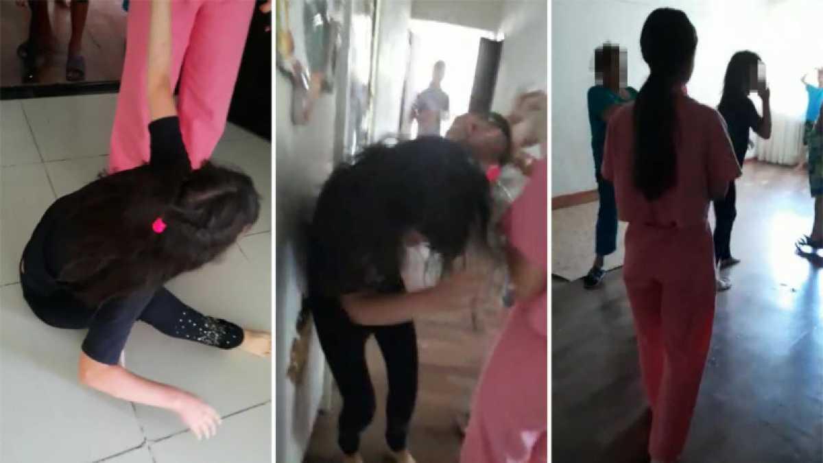 В Казнете распространяется видео жестокого избиения воспитанницы детдома в Алматы
