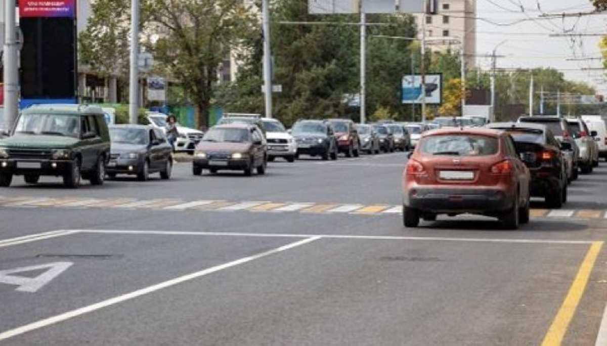 Автобусные полосы убрали на двух улицах Алматы