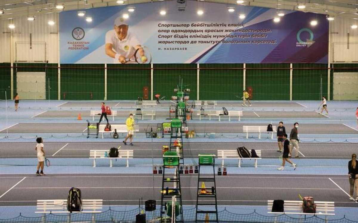 В Караганде впервые пройдёт международный турнир по большому теннису