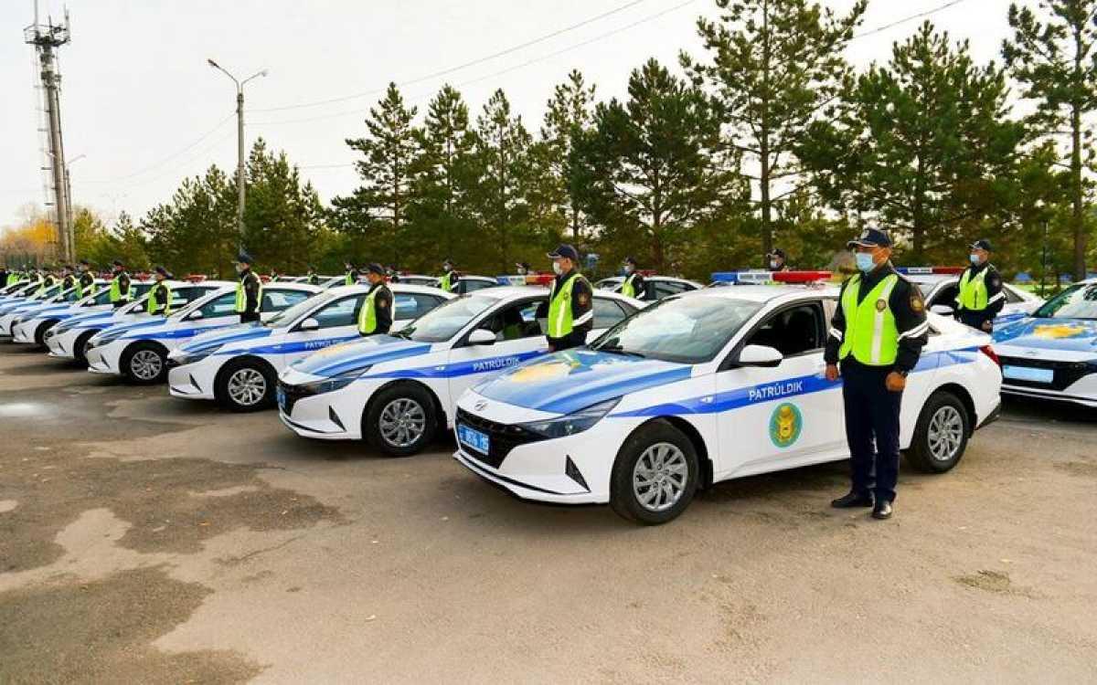 127 новых машин получили полицейские СКО