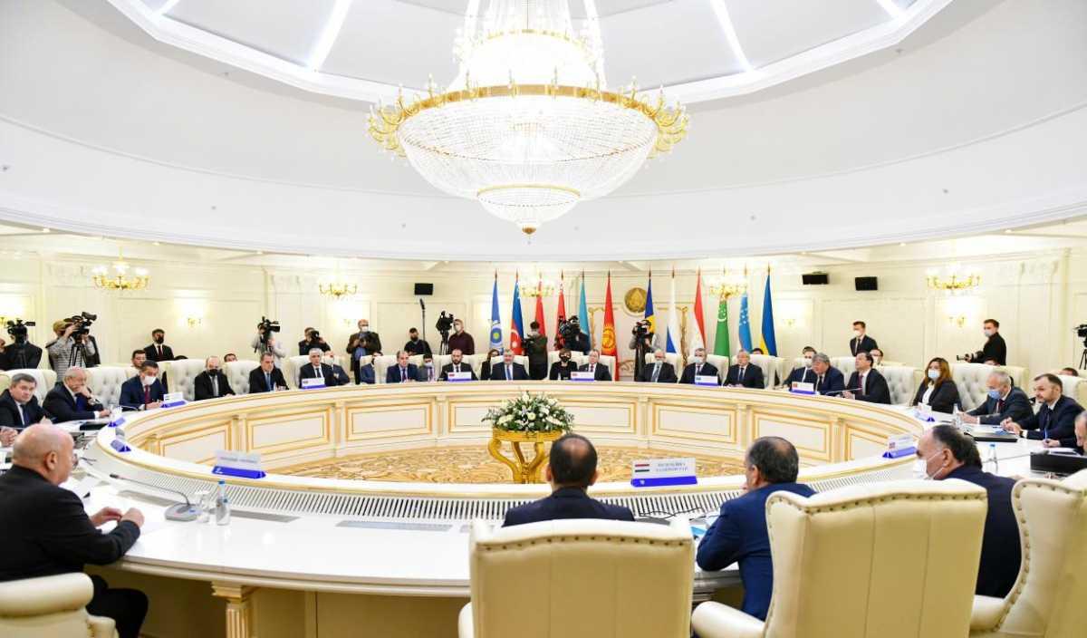 Казахстан принял участие в Совете министров иностранных дел СНГ