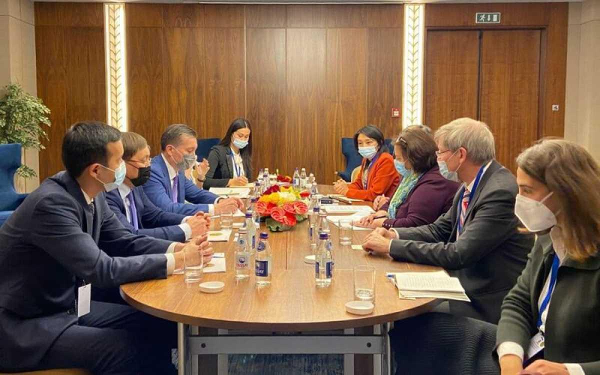 Глава Минэкологии встретился с Руководителем Директората по защите окружающей среды ОЭСР Рудольфо Лейси Таймайо